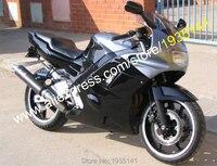 Hot Sales,Aftermarket Parts For Honda CBR600 F2 1991 1992 1993 1994 CBR 600 F2 91 92 93 94 Black Silver Motorcycle Fairing Set