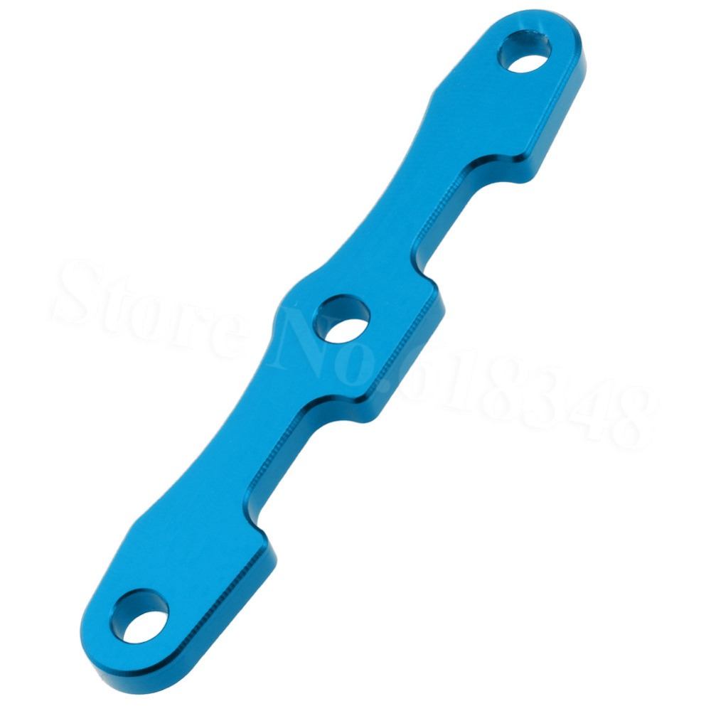 6823 Traxxas 1/10 Slash 4X4 Aluminum Bulkhead Tie Bars Rear Blue/Red Anodized For Rally VXL Platinum Ultimate Stampede