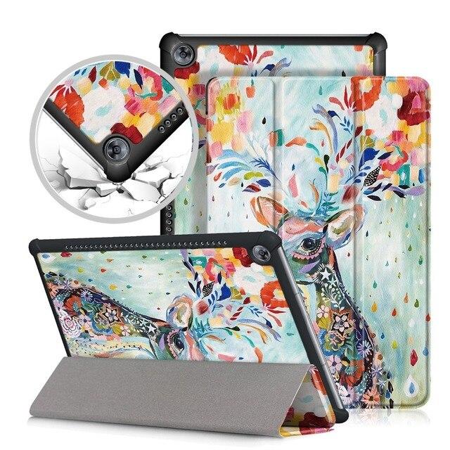 """PU Funda de cuero para Huawei MediaPad M5 10 pro Tablet PC funda protectora para Huawei MediaPad M5 10,8"""" CRM-AL09 CRM-W09"""