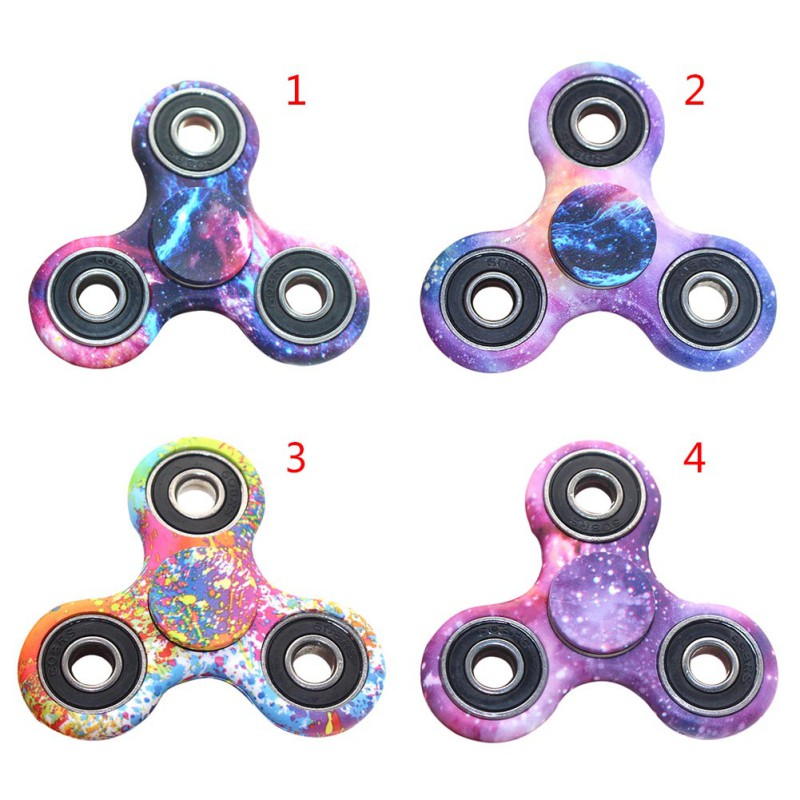 finger spinner fidget toy Camouflage Toy EDC Hand Finger mini spinner anxiety Squeeze Fun gift toy plastic relieves stress
