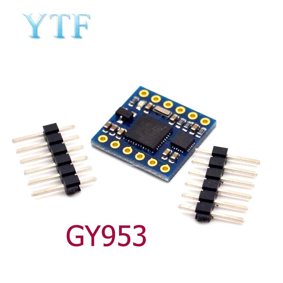 GY-953 AHRS Nine Axis Inertial Navigation Sensor Module Electronic Compass Tilt Compensation Module