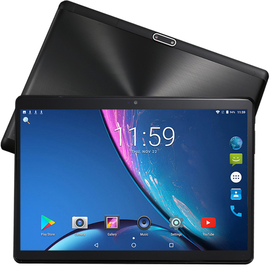 10 Inch 4G LTE Tablet PC Google Play Deca Core MT6797 4GB RAM 64GB ROM 1920*1200 IPS 2.5D Tempered Glass Tablets Android 8.1