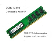 Бесплатная доставка Brand New Sealed ОПЕРАТИВНОЙ ПАМЯТИ DDR2 DIMM ПАМЯТИ 4 Г 4*1 Г 800 полностью совместимы