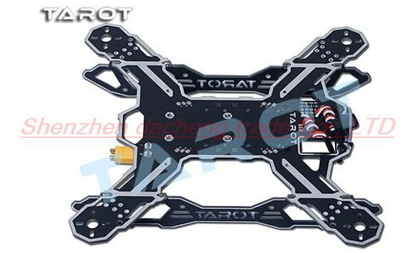 Tarot Mini 200 QAV Quadcopter TL200B Frame Kits With Camera/Motor/Propeller for FPV Photography