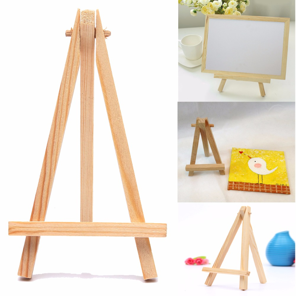 10PCS Kids Mini Wooden Easel Art Painting Name Card Stand Display Holder Drawing for School Student Artist Supplies, (10-Pack)10PCS Kids Mini Wooden Easel Art Painting Name Card Stand Display Holder Drawing for School Student Artist Supplies, (10-Pack)