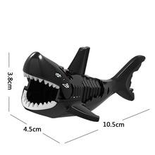 Single Sale Legoingly Lord of the Wolf Shark crocodile Leopard Cow dog Model Bricks Building Blocks Bricks Action Gift Toys