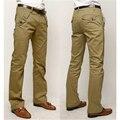 100% COTTON Straight Casual pants Men brand fashion Pants Trousers male Plus large Size cargo pants men pantalon homme hombre