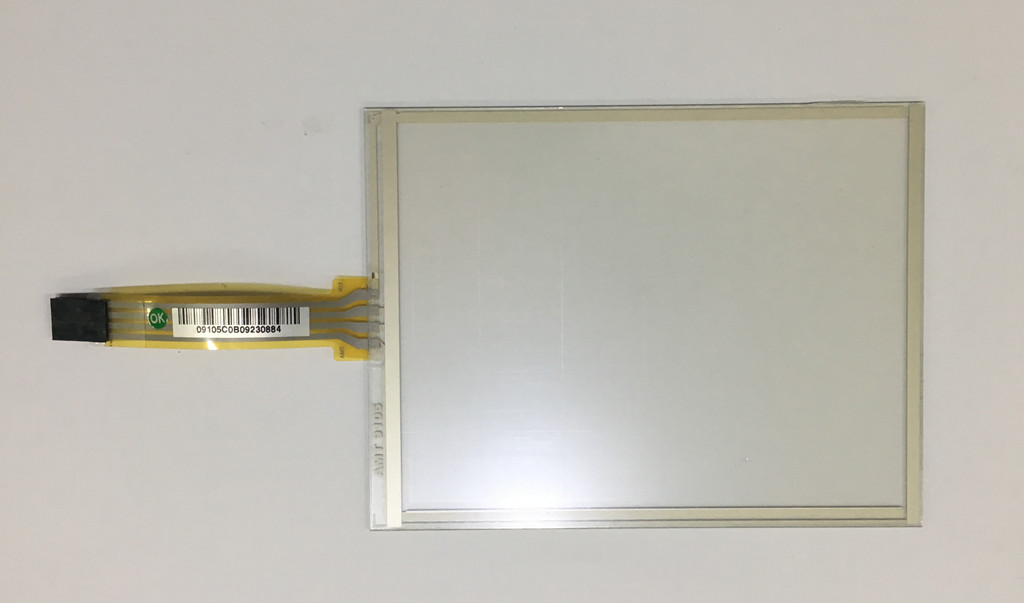 AMT AMT9105 Taiwan original 5.88 -inch 4-wire resistive touch screen 4 wire industrial touch screen for amt9102 amt 9102