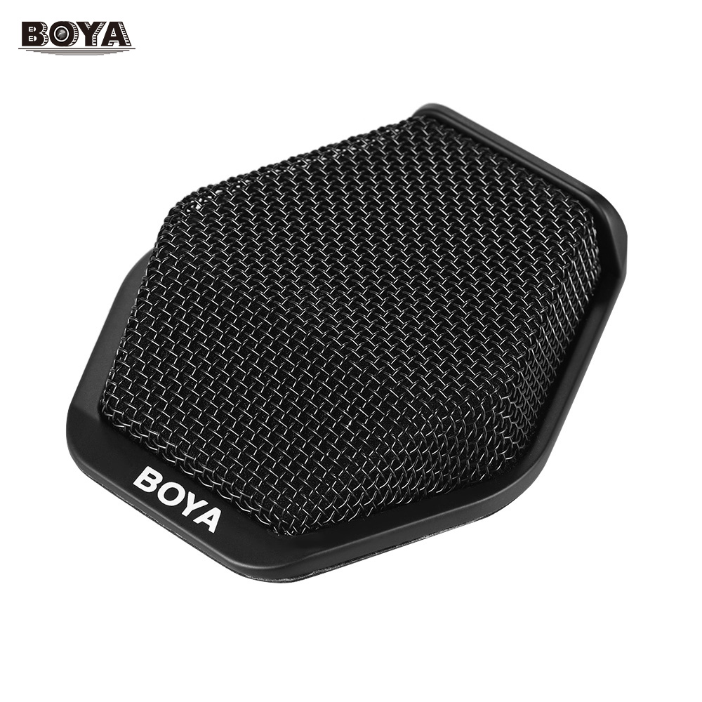 BOYA BY MC2 Super cardioid Condenser Conference Microphone with 3 5mm Audio Jack for Conference Room