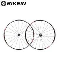 BIKEIN Ultralight Aluminum CNC 6 Bearing Cycling Road Bike Wheels 700C 14G Spokes Rim 9 10