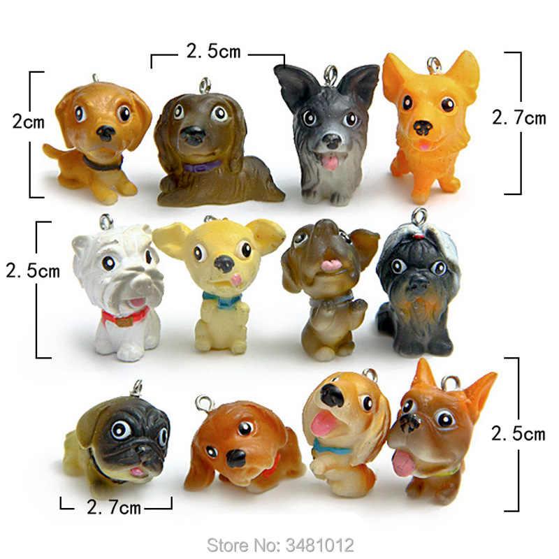 Kawaii Shiba Inu Dogs Animal Figures Miniature Model
