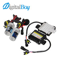 Digitalboy 55W Slim Ballast Block HID Xenon Kit H7 Bulbs H1 H3 H8 H9 H11 9005