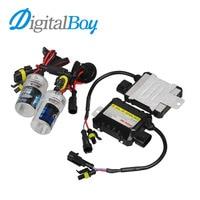 Digitalboy 55W Slim Ballast Block HID Xenon Kit H7 Bulbs H1 H3 H8 H9 H11 9005