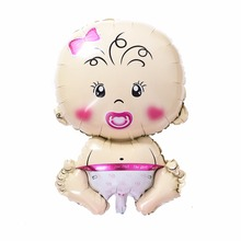 Classic Toy Large Size Baby Boys Girls Cartoon Balloons Kid Happy Birthday Party Decoration