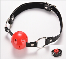 PU Leather Open Mouth Gag Teasing Bdsm Bondage Restraints Torture Juegos Sexuales Flirting Sex Game Accessories