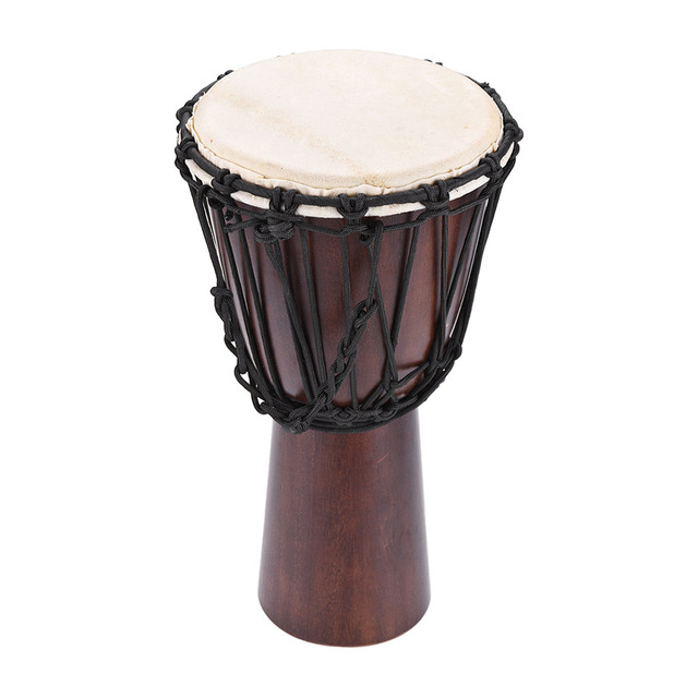 professional 8 african djembe hand bongo drum percussion music instrument select hardwood body. Black Bedroom Furniture Sets. Home Design Ideas