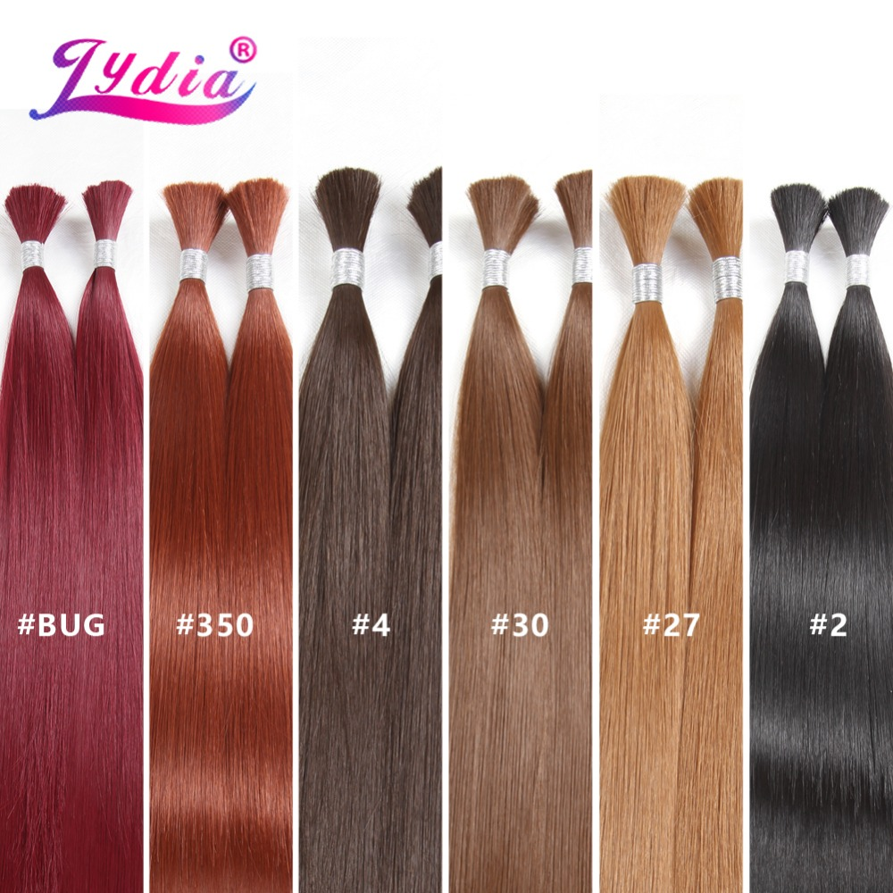Lydia For Women Long Straight Synthetic Hair Bundles 18