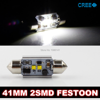 2x Canbus 12W CREE C5W 6W 2 Genuine Cree 41mm 42mm Led Festoon Car Led Dome