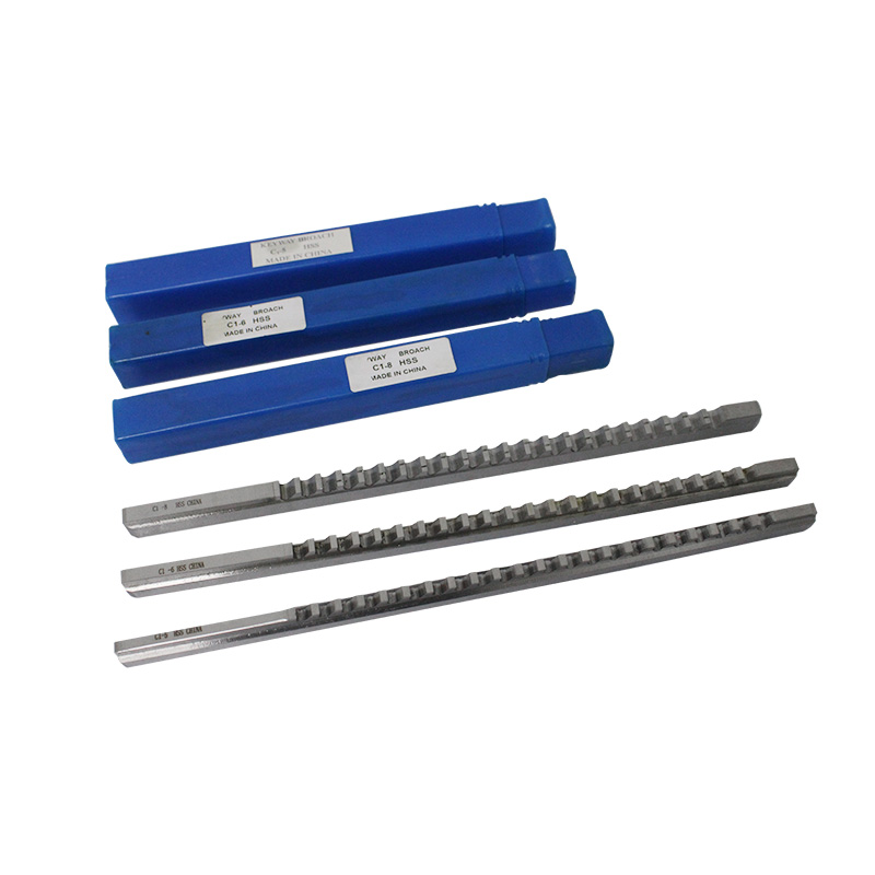 Keyway Push Broach Metric Size HSS 8mm 6mm 5mm C Push-Type Broach High Speed Steel with Shim 5mm C1-5