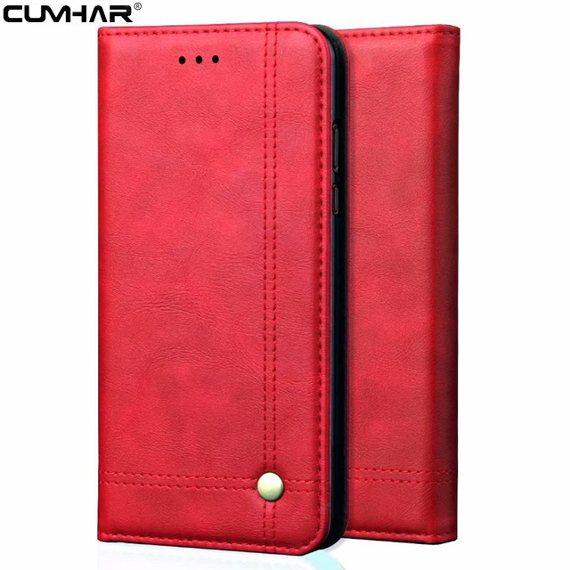 Magnetic Adsorption Wallet Flip Leather for iPhone XS Max Cover Soft TPU Card Pocket for iPhone 7 8 Plus Case 5S SE 6 Book Coque