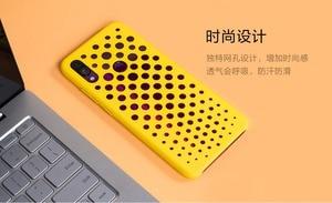Image 3 - Original xiaomi redmi note 7 case cover note7 matte hard pc protective breathable backhole case coque redmi note 7 pro cover