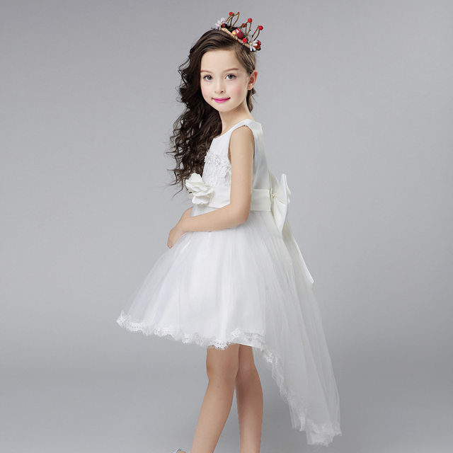 Online Shop 5-16yrs Teenagers Girls Party Dress Wedding Embroidered ...