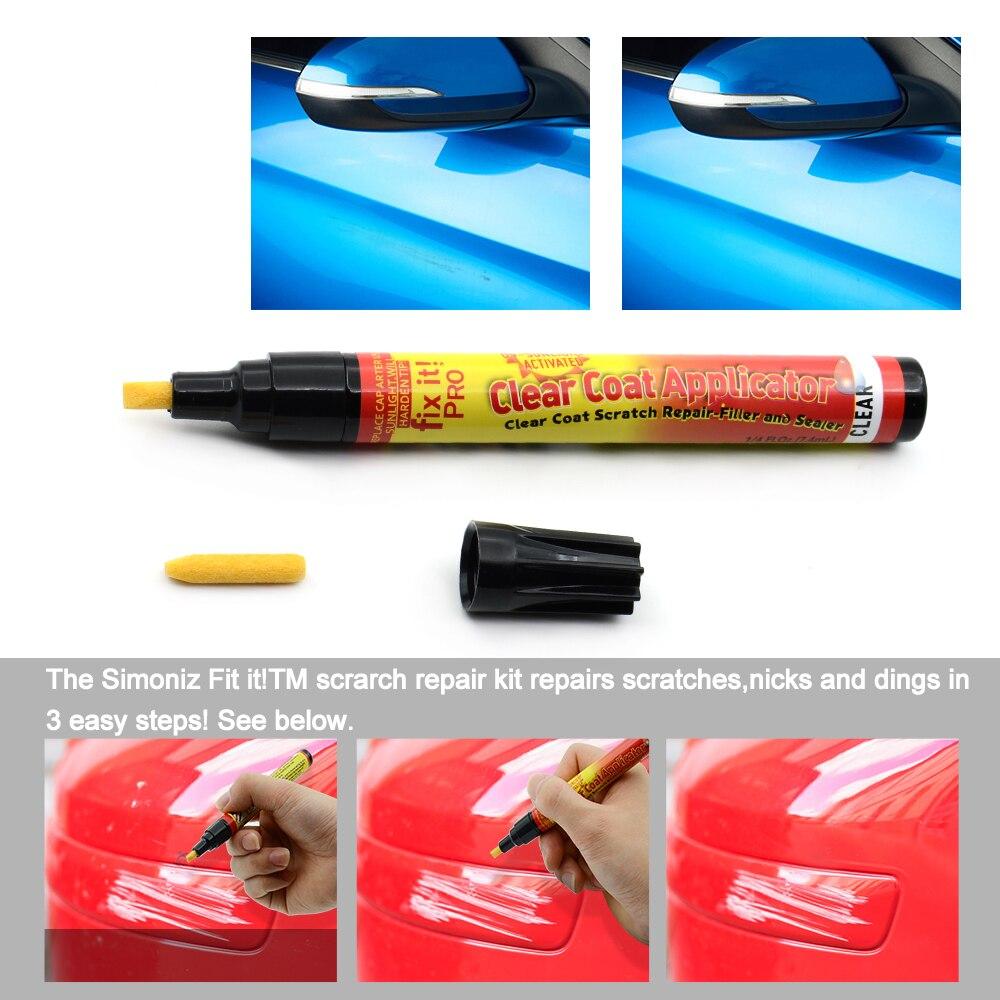 Non Toxic Coat Applicator Fix It Pro Clear Car Scratch Repair Remover Pen