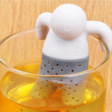 TTLIFE 2016 New 1pc Practical Tea Infuser Cute Mr Tea Strainer Safe Food Grade Silicone Convenient