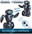 Interação pai-filho dança do robô de controle remoto inteligente equilíbrio gestos, contra os robôs, crianças equilíbrio brinquedos robô