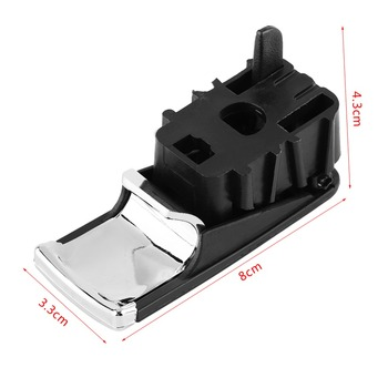 Car Left Hand Drive Glove Box Lid Handle Puller with Lock Hole