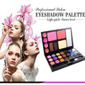 21Colors Handy Combo Shimmer Pearl Eyeshadow Palette Camouflage Blush Eyebrow Powder Neutral Cosmetic Makeup Paltette Maquiagem