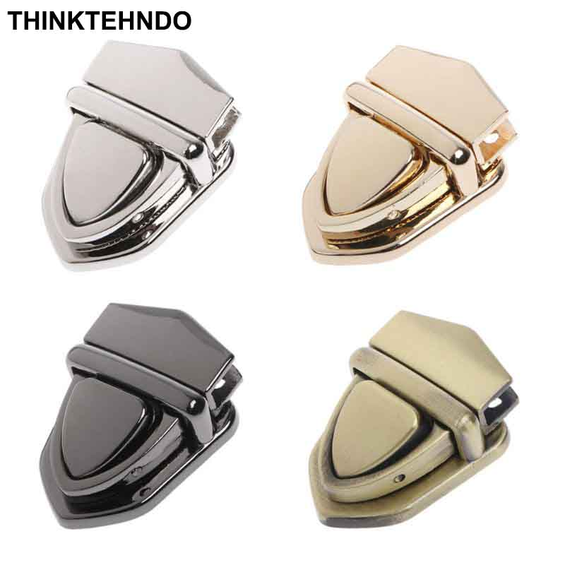 Open-Minded 1pc Turn Locks Twist Lock Diy Metal Clasp Handbag Shoulder Bag Purse Luggage & Bags