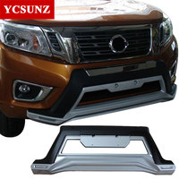 2015 2018 front bumper For Nissan Navara Frontier 2017 front body kits with DRL for Nissan Navara 2016 frontier bumper Ycsunz