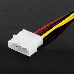 Image 4 - JONSNOW 6 פין זכר 4 פינים Molex נקבה PCI Express גרפיקה כרטיס כוח מתאם כבל הארכת כבל מחבר כוח