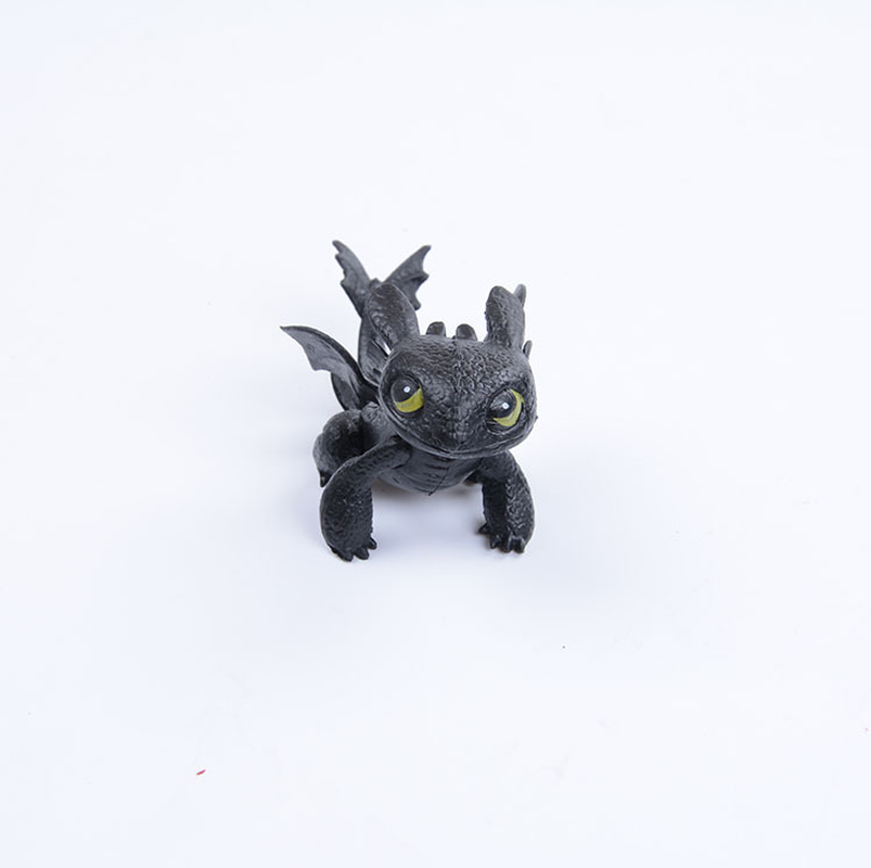 Como Treinar O Seu Dragão Desdentado Figura de Ação Toyless Desdentado Brinquedos para Presentes de Aniversário das Crianças Anime Figura de Brinquedo