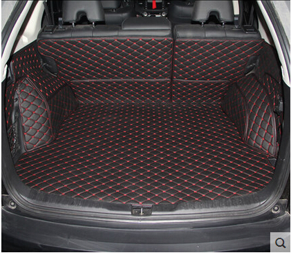 Special Trunk Mats For Honda Cr V 2016 2017 Waterproof Cargo Liner Boot Carpets Crv Free Shipping