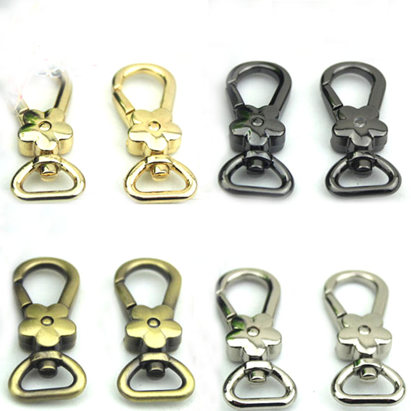 60pcs bronze Purse Clasp, Metal snap hook, Handbag Hardware Chain Strap Clasp,Connector Clasp ...