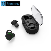 Samload TWS Invisible Mini Bluetooth Earphone 3D Stereo Hands Free Noise Reduction Sport Bluetooth Headset Wireless