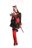 Halloween Carnival Clown Costumes For Womens L15467