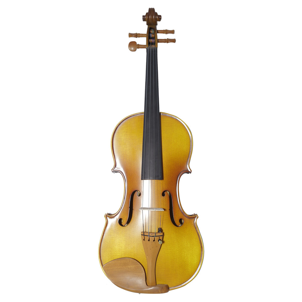Single Board Backplate Musical Instrument Handmade Antique Violin Natural Stripes Maple Violino Fiddle 4/4 3/4 1/2 1/4 1/8