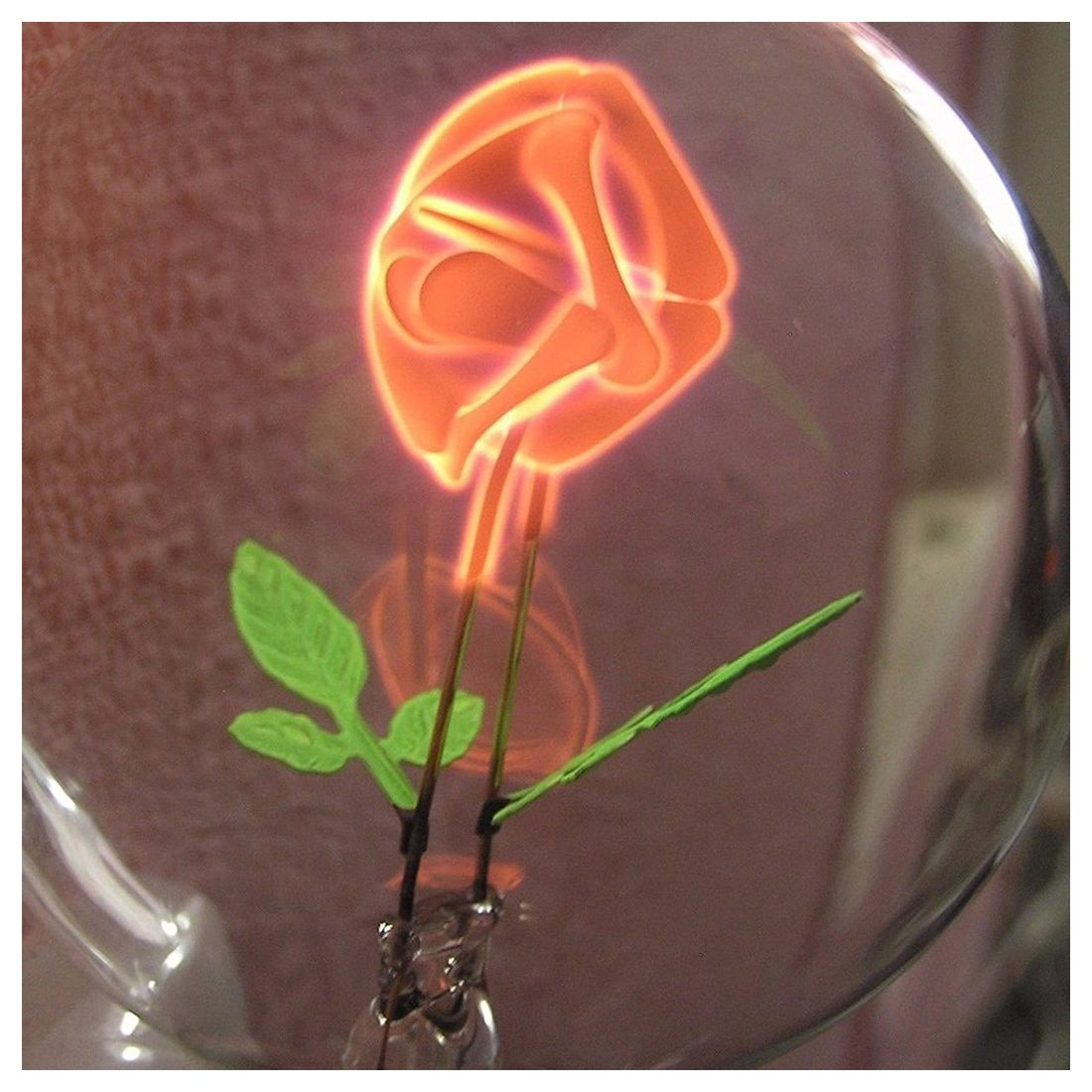 artful neon light bulb E26/E27 110/220V nixie filament lamp tube rose wild at heart neon sign advertise custom logo neon bulb beer glass tube handcrafted neon glass tubes recreation room lamps 17x14