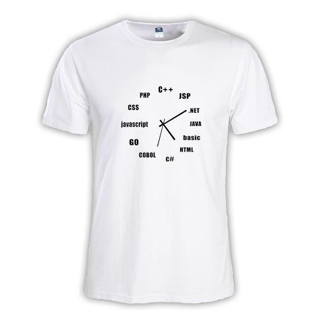 2018 Летняя мода Мужская футболка мастер NERD freak хакер pc gamer программиста систем топы для мальчиков футболки Мужчины C + + Java PHP CSS одежда