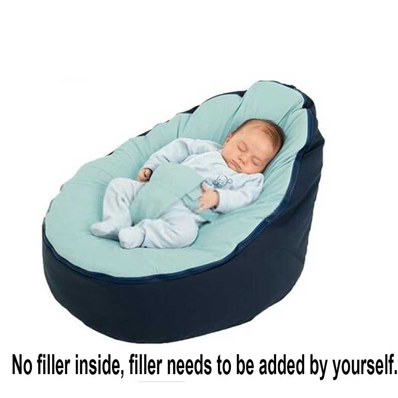 Baby Sleeping Chair Chaise Lounge Chairs For Patio New Fashion Bean Bag Bed With Harness Portable Multicolor Kids Sofa Cushion Without Fillings In From Home Garden On