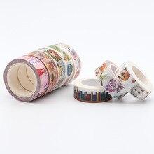 10 м японский DIY Васи клей клейкие ленты фото альбомы для скрапбукинга кавай бумажные наклейки маскирования клейкие ленты детские подарки школьные канцелярские
