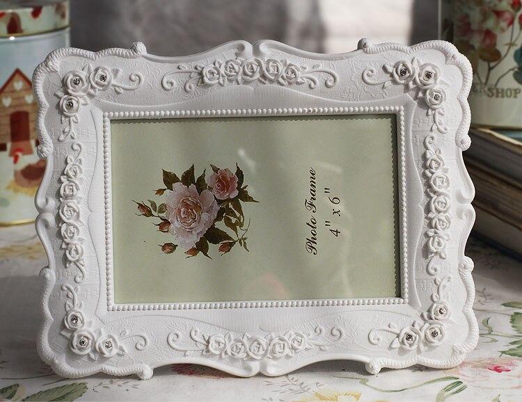 1 pc romantique blanc de bureau cadre photo home decor famille bébé