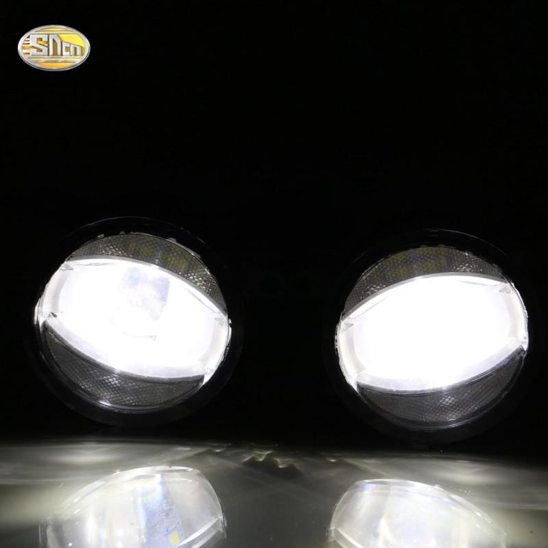 ФОТО High Brightness 90mm LED fog lamp for Ford Explorer 2007~2011 Daytime Running Lights LED DRL