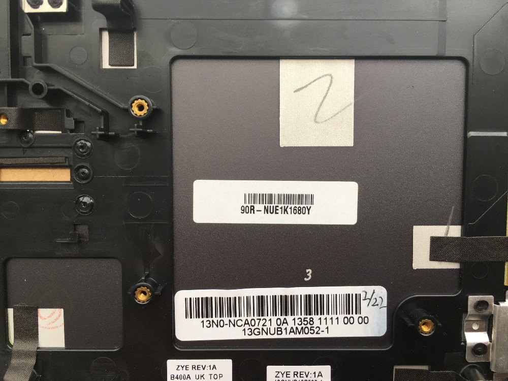 New GR Germany Keyboard For ASUS X54H X53S N73S N53S P52E N51 N50 N53 K54 K54H Laptop Keyboard