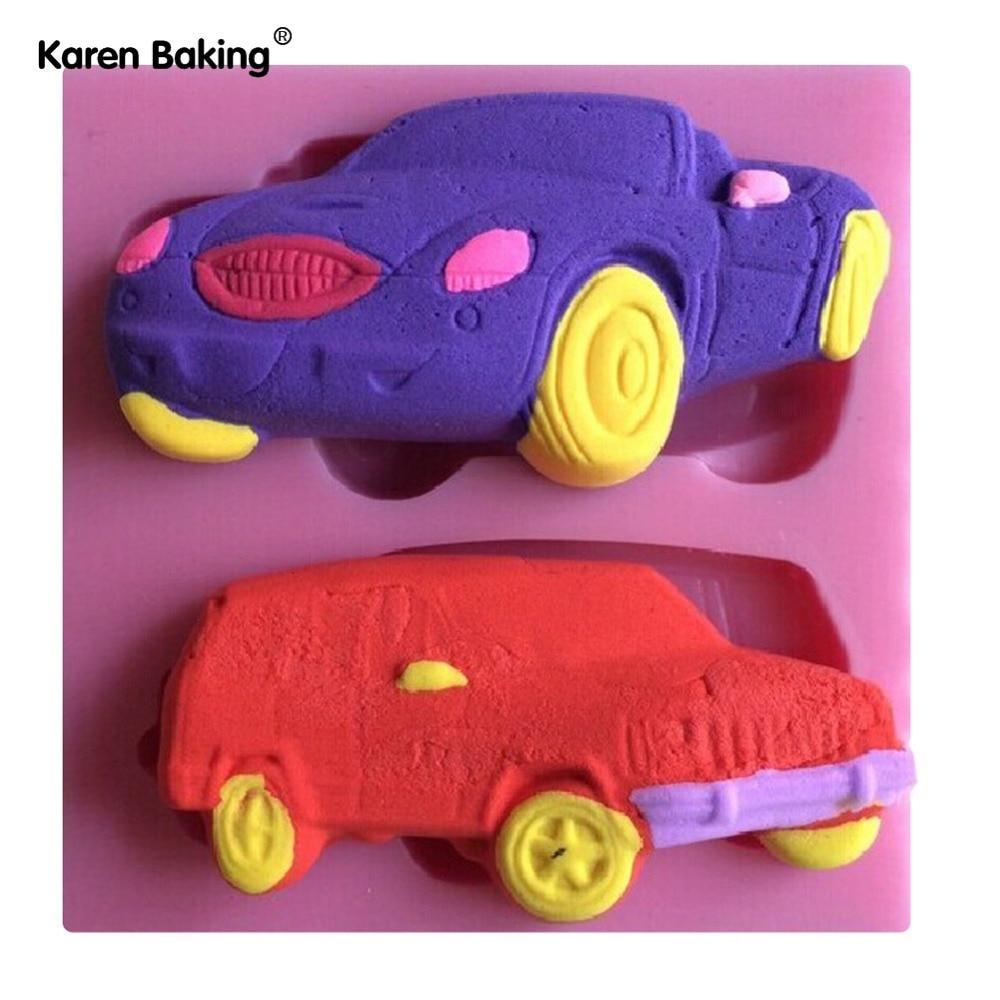 Car Molds For Cake Decorating : Classic Car Shape Fondant Cake Molds Tools Decorating ...