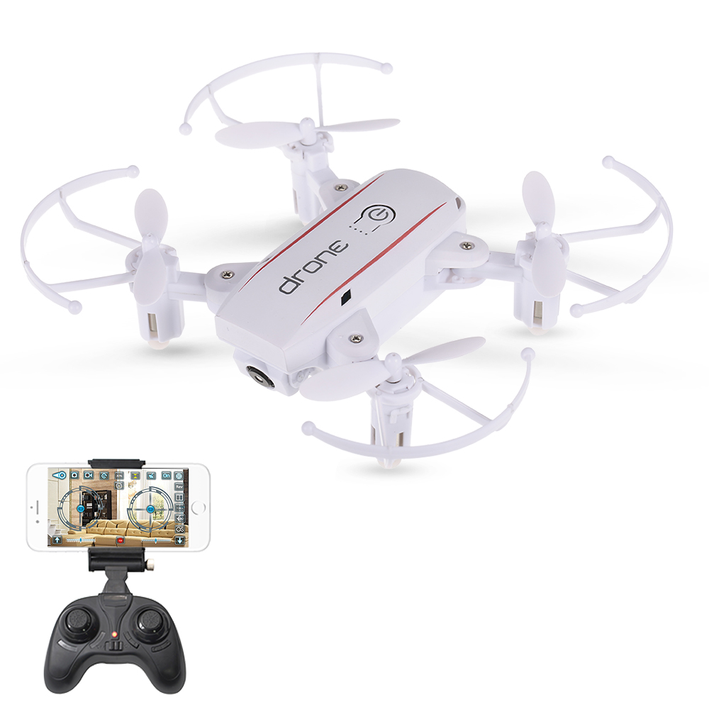 New Arrival IN1601 2.4G 720P 0.3MP Wifi FPV Foldable Mini Drone With Camera Altitude Hold RC Drone Quadcopter Selfie Drone Gifts (11)