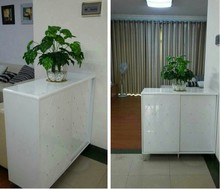 Diamond shoe paint sliding door racks minimalist entrance hall cabinet partition doors